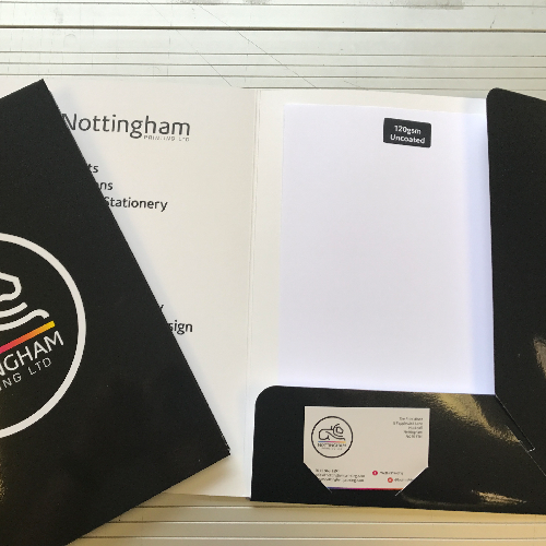 Litho Printed Presentation Folders