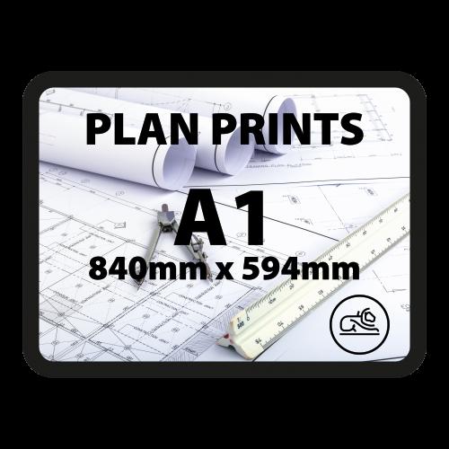 A1 plan prints